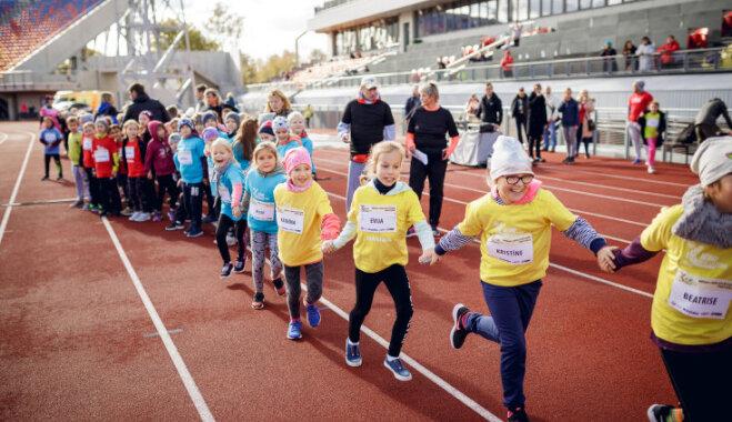 Visā Latvijā norisināsies 'Bērnu vieglatlētikas' festivāli