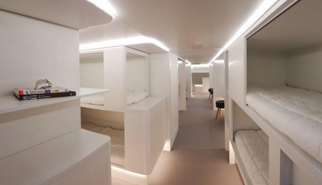 В самолетах Airbus появятся спальные места