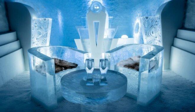 Под водой, землей, в горах и изо льда: семь уникальных гостиниц