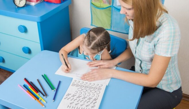 Četri veidi, kā mājasdarbu pildīšanu padarīt bērniem interesantāku