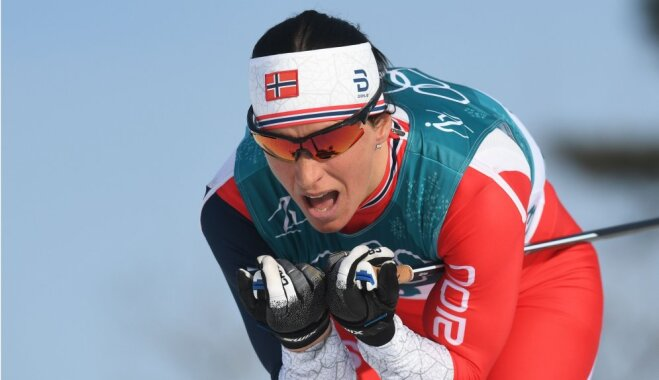 Лыжный спринт: Бьорген — рекордсменка зимних Игр по медалям, у россиян — серебро