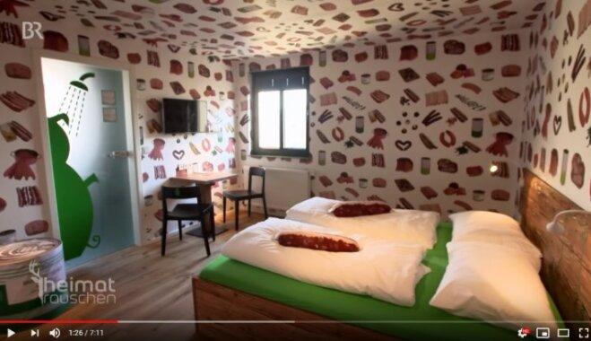 В Германии открылся первый в мире отель для тех, кто питает страсть к колбасе