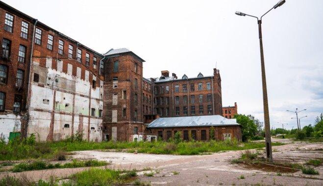 Pamestā Krēnholmas manufaktūra Narvā, kas reiz bija lielākā Eiropā