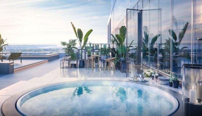 Foto: Kā izskatīsies dārgākais Igaunijas luksusa dzīvoklis