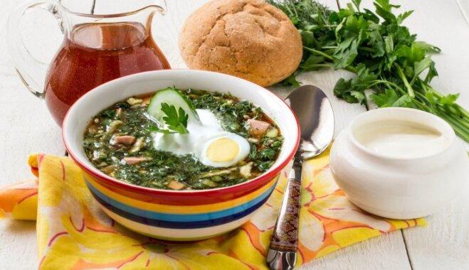 Классика русской кухни – как приготовить окрошку на квасе