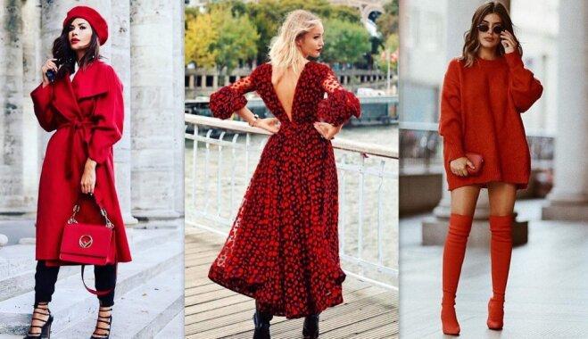 Ярко-красный: модная тенденция, которой стоит поддаться