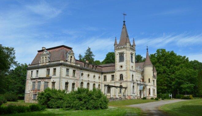 Stāmerienas pili var iepazīt virtuālās ekskursijas laikā