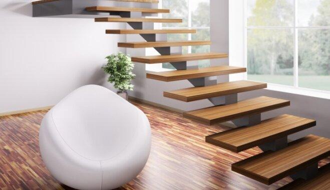 Sešas radošas idejas kāpņu telpas uzfrišināšanai