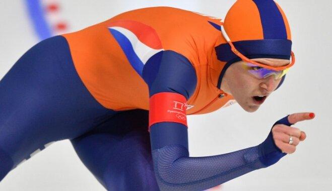 Голландка Вюст стала самой титулованной конькобежкой в истории Олимпиад