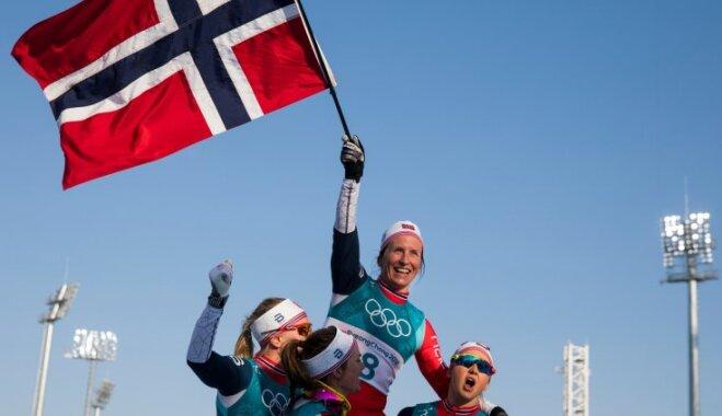 Итоговый медальный зачет Олимпиады: Норвегия победила с двумя историческими рекордами