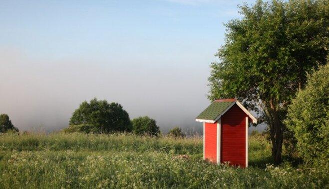 Pieredzes stāsts: sirsniņmājiņa ar skatu uz Daugavas lokiem