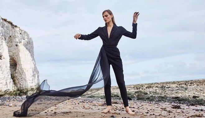ФОТО. Легким движением руки костюм превращается в платье
