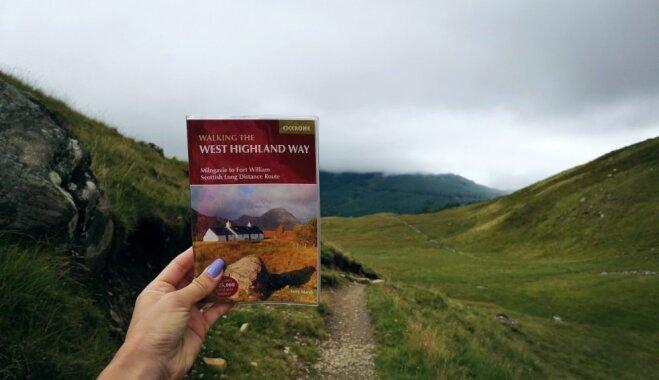 Piecās dienās 154 kilometri: pārgājiens pa izslavēto maršrutu Skotijas kalnos