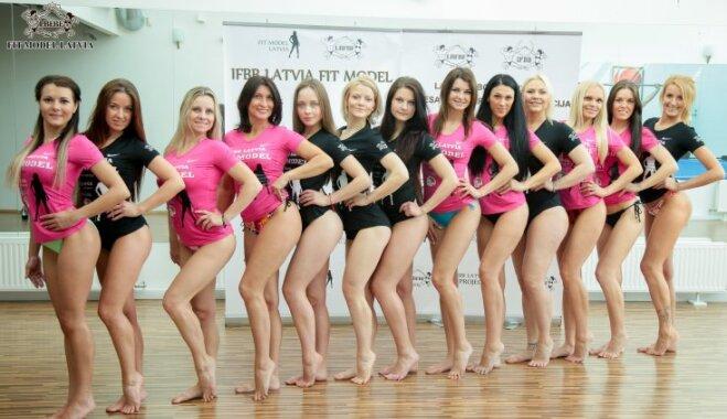 Treniņi un meiteņu pārvērtības: 'Fit Model Latvija 2017' pirmās piecas nedēļas