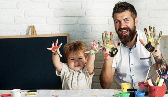 Izveidota ideju krātuve, kurā smelties iedvesmu laika pavadīšanai ar bērniem