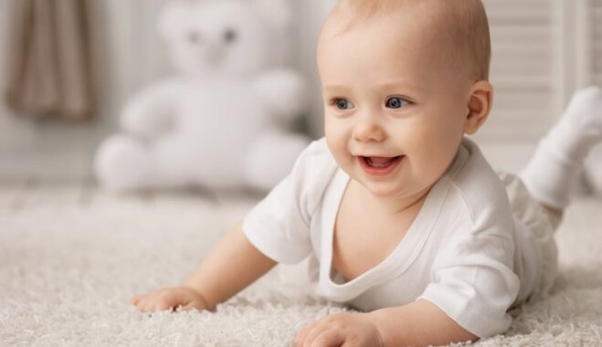 Ikdienā veicamas darbības, lai mazulis augtu fiziski spēcīgāks