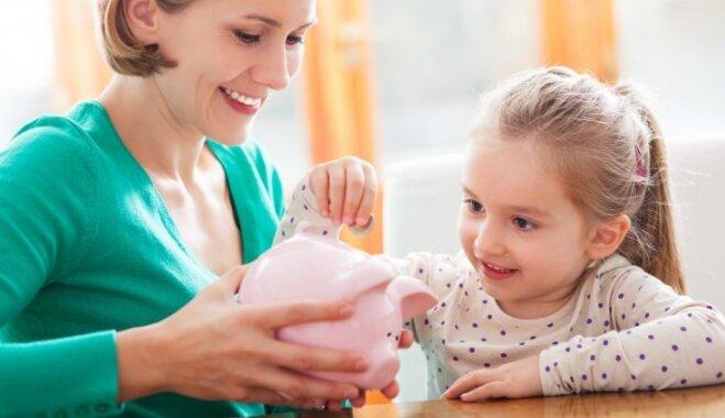 Nauda neaug kokos un citas mācības par finansēm, kas bērnam jāapgūst līdz 10 gadu vecumam