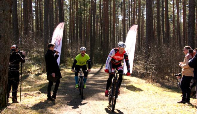 Biķernieku mežā atklāta skriešanas taka; būs arī velotaka