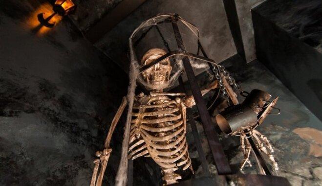 Rīgā atklāj jaunu slēgto istabu ar šausmu filmas 'Zāģis' elementiem