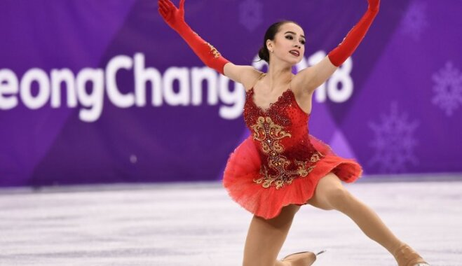 Фигуристка Загитова принесла олимпийцам России первое золото Пхенчхана-2018