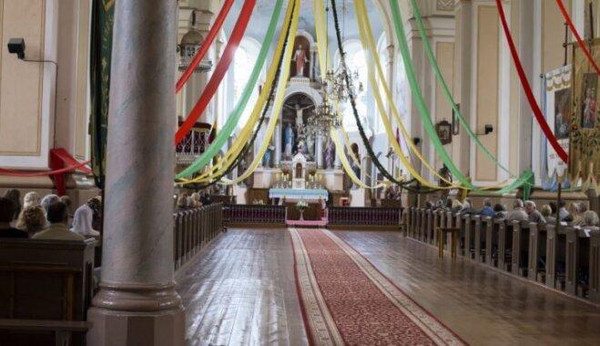 ФОТО. Салакайский костел - жемчужина архитектуры Зарасайского края