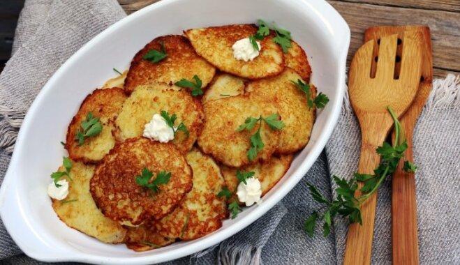 No Latgales līdz Kurzemei: 17 latviski kartupeļu ēdieni no vienkāršām sastāvdaļām