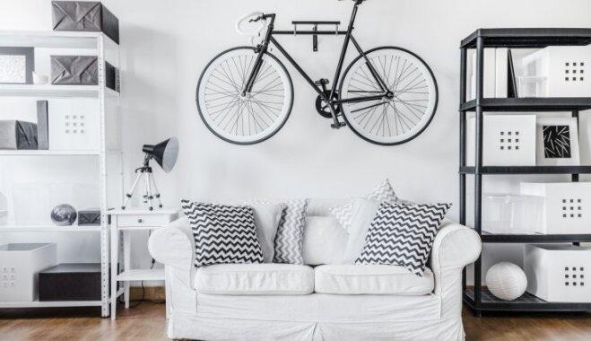 Melnbaltais šiks – idejas drosmīgam krāsu salikumam interjerā