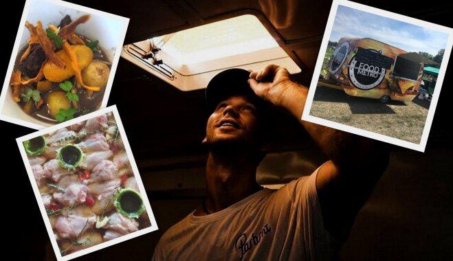 Virtuves sarunas: No BMX trases līdz savam ielu ēdiena busiņam – Kristaps Reimanis