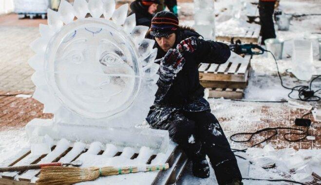Šī gada Jelgavas Ledus skulptūru festivāla tēma būs kino