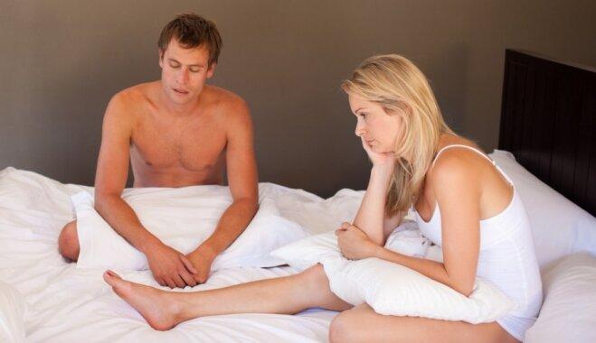 Секс мужщини с женой