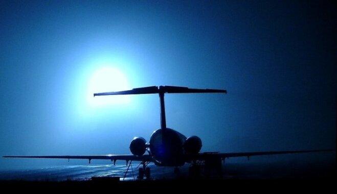 ВИДЕО. Посадку самолета вслепую сняли на видео из кабины пилота