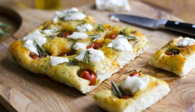 Picas omīte – fokača: vienkāršs veids, kā piesildīt māju ar svaigi ceptas maizes smaržu