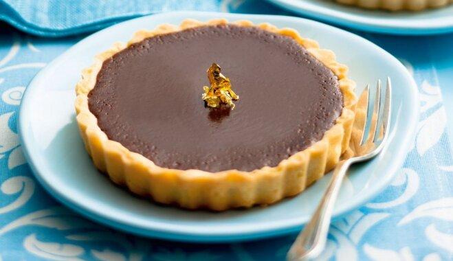 Klasiskās šokolādes tartes