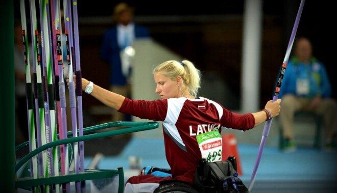 Amatpersonas sveic Dadzīti ar zeltu Riodežaneiro paralimpiskajās spēlēs
