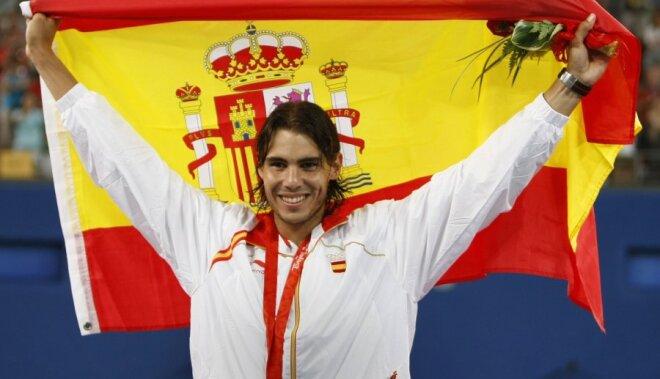 Arī Nadals būs karognesējs Londonas Olimpiādē