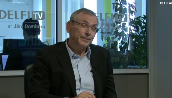 ВИДЕО. Интервью на Delfi TV: Янис Домбурс vs Андрис Пиебалгс