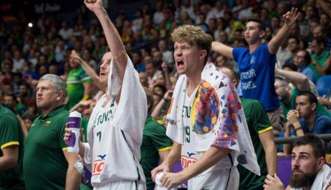 Foto: Lietuva sagādā Itālijai pirmo neveiksmi 'Eurobasket 2017'