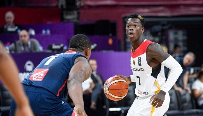 Vācija ar tālmetieniem izslēdz medaļu pretendenti Franciju no 'Eurobasket 2017'