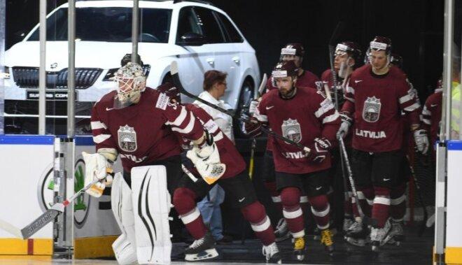 На ЧМ-2018 по хоккею сборная Латвии сыграет в Хернинге