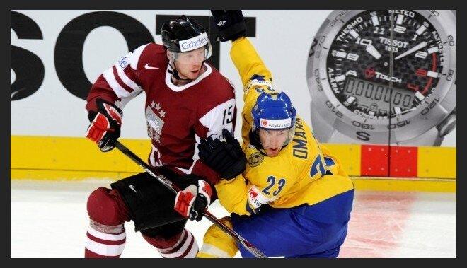 Jerofejevs pievienojies Latvijas hokeja izlasei; Daugaviņš ieradīsies tuvākajās dienās