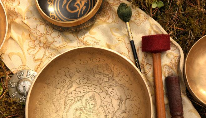 Ko tev var dot gongu meditācija?
