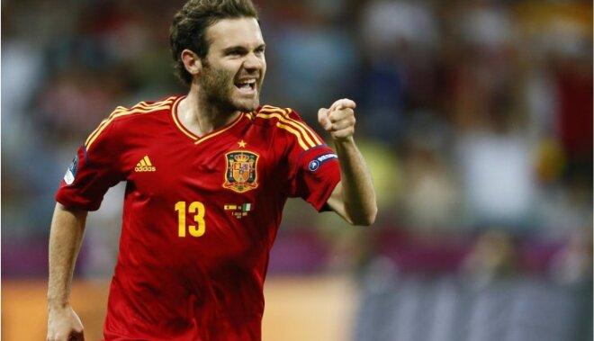 Spānijas futbolisti ar negaidītu zaudējumu sāk dalību Londonas olimpisko spēļu vīriešu turnīrā