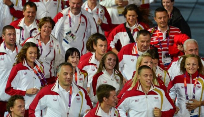 Svinīgi noslēgušās Londonas olimpiskās spēles
