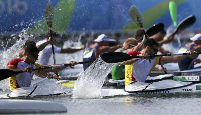 Riodežaneiro vasaras olimpisko spēļu rezultāti airēšanā (18.08.2016)
