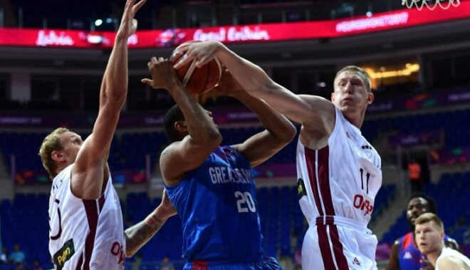 ВИДЕО: Смотрите, как Латвия обыграла Великобританию, а Россия — Бельгию