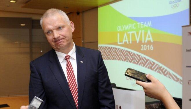 Latvijas olimpiskās delegācijas vadītājs Tikmers saliek punktus uz 'i' Pones lietā
