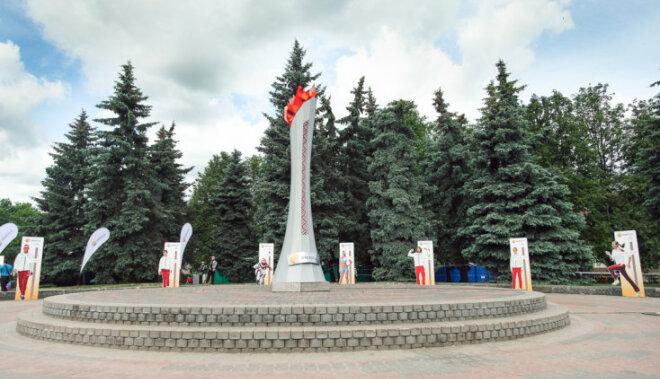 Ventspilī iedegs vēl vienu Enerģijas lāpu Latvijas olimpiešu atbalstam