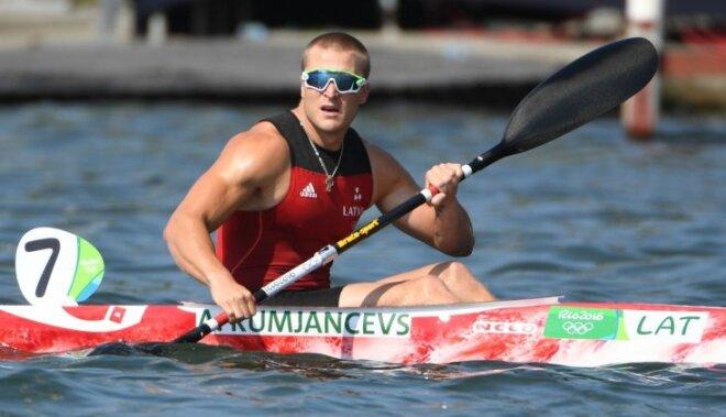 Smaiļotājs Rumjancevs nesīs Latvijas karogu Rio olimpisko spēļu noslēguma ceremonijā
