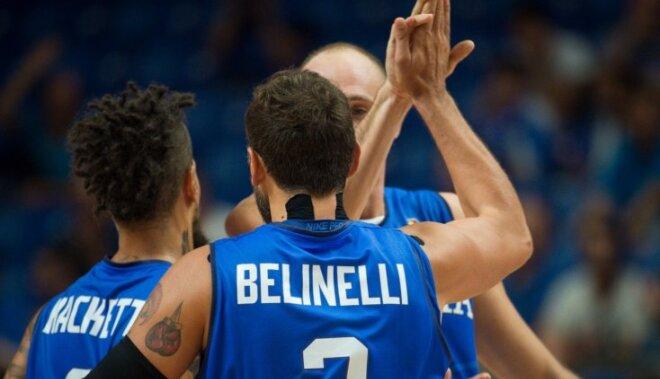 Spānija ar Po Gasolu priekšgalā grauj Čehiju; Belinelli kaldina Itālijas uzvaru pār Ukrainu