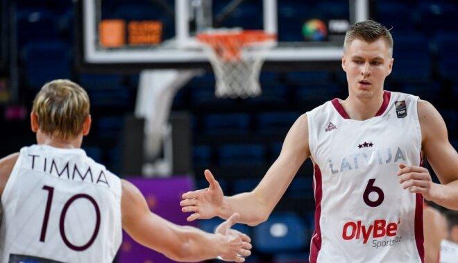 Latvija ar pārliecinošu uzvaru iekļūst 'Eurobasket 2017' ceturtdaļfinālā